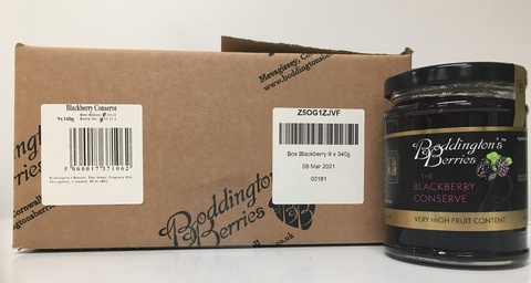 Blackberry Conserve - 340g Jars [x 9]