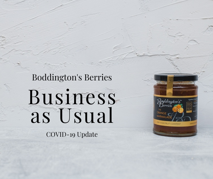 COVID-19 Update – Boddington's Berries – Business as Usual
